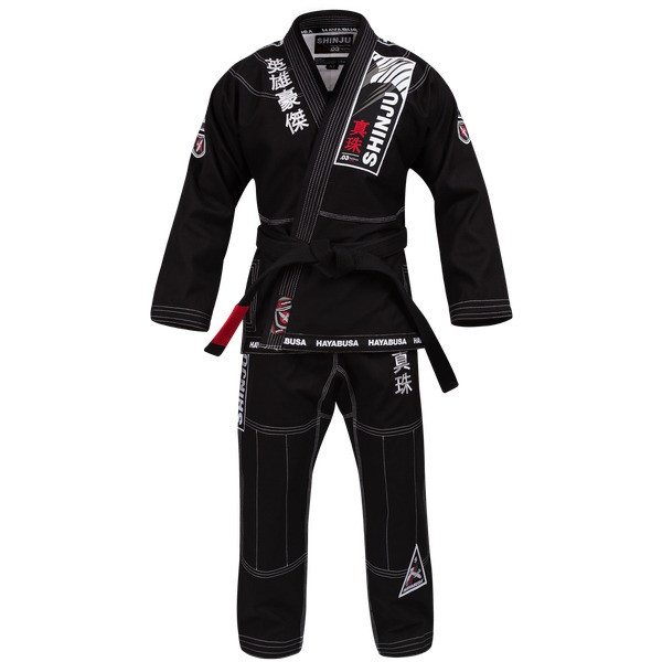 Hayabusa Shinju 3 Pearl Weave Jiu Jitsu Gi in Black Now available at www.thejiujitsushop.com.  The Hayabusa Shinju 3.0 comes in Black blue and white.    Enjoy Free Shipping from The Jiu Jitsu Shop.