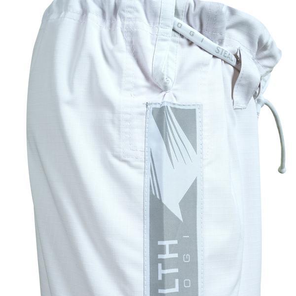 Gi pants of the Hayabusa Stealth Jiu Jitsu Gi in White available at www.thejiujitsushop.com  Enjoy Free Shipping from The Jiu Jitsu Shop.