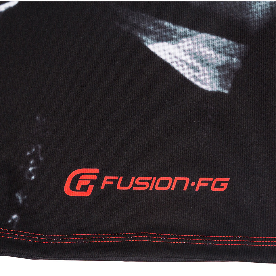 bottom back of the Fusion FG Bloodsport Rashguard.  Unique and officially licensed bloodsport Jiu Jitsu Rashguard.  Available at www.thejiujitsushop.com  Enjoy Free Shipping from The Jiu Jitsu Shop