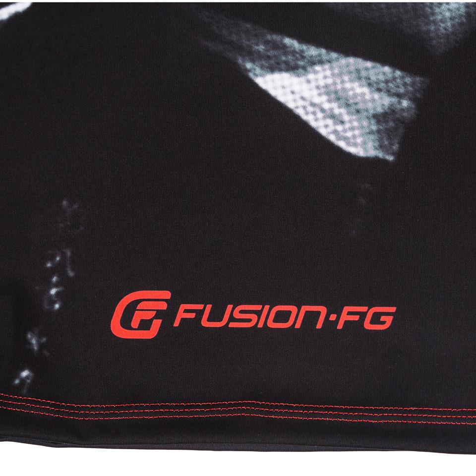 bottom back of the Fusion FG Bloodsport Rashguard.  Unique and officially licensed bloodsport Jiu Jitsu Rashguard.  Available at www.thejiujitsushop.com  Enjoy Free Shipping from The Jiu Jitsu Shop