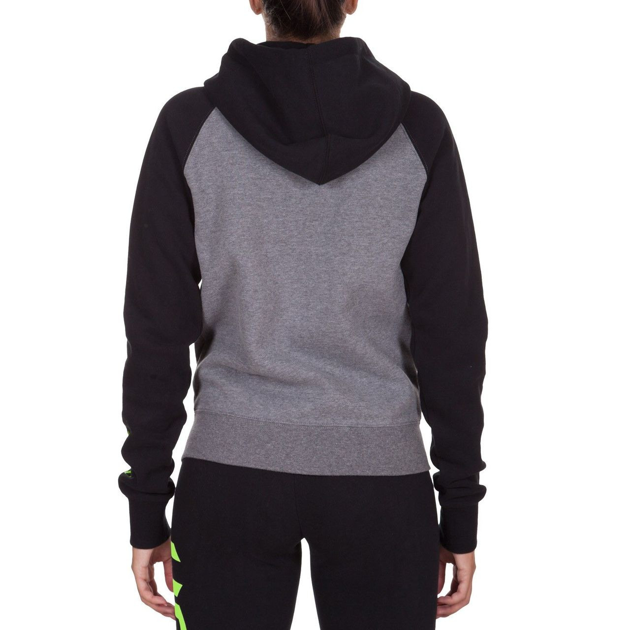 Back view of the Venum Infinity Hoody designed for women.  Available at www.thejiujitsushop.com  Order now for free shipping across the store!