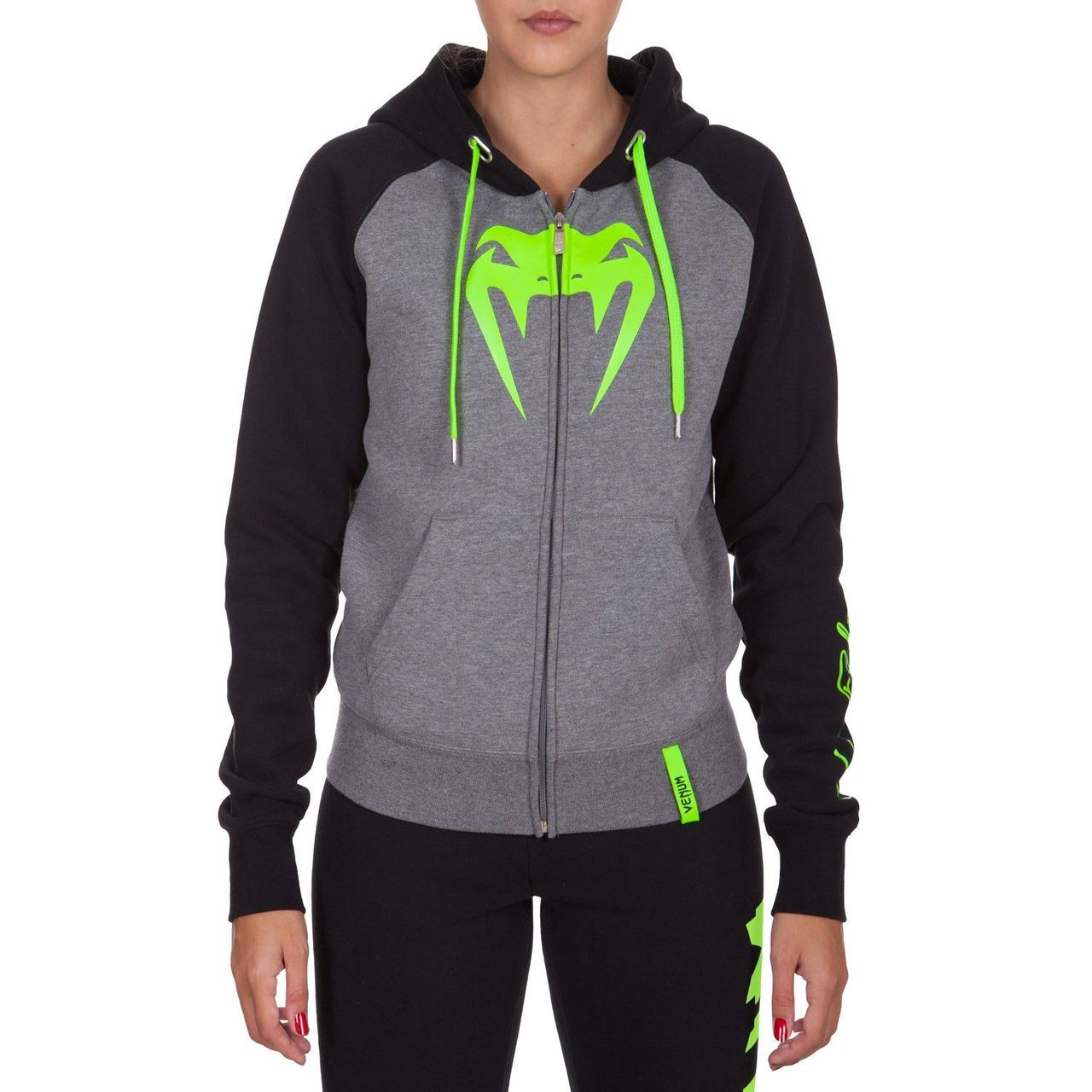 Venum Infinity Hoody designed for women.  Available at www.thejiujitsushop.com  Order now for free shipping across the store!