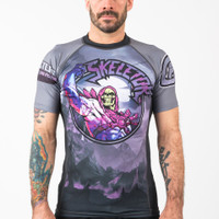 Fusion FG Master of the Universe Skeletor Short Sleeve Rashguard.  Enjoy free Shipping from www.thejiujitsushop.com  Fast Free Shipping from The Jiu Jitsu Shop today!