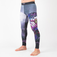 Fusion Fight Gear Masters Of The Universe Skeletor BJJ Spats Compression Pants