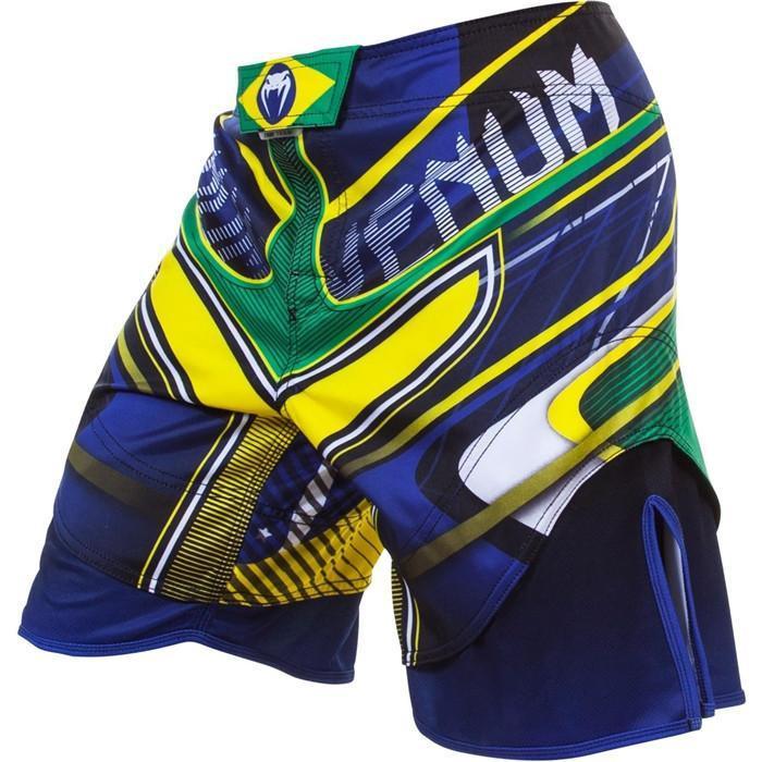 Venum Brazil Hero Fight Shorts now available at www.thejiujitsushop.com