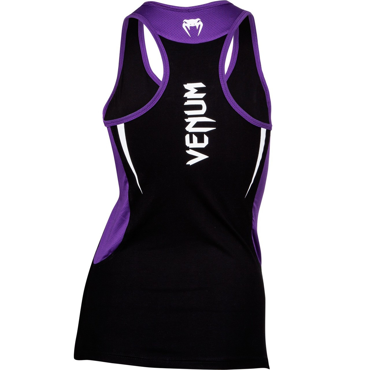 Venum Body Fit Tank Top black with purple accents now available at www.thejiujitsuhsop.com  Enjoy Free Shipping from The Jiu Jitsu Shop