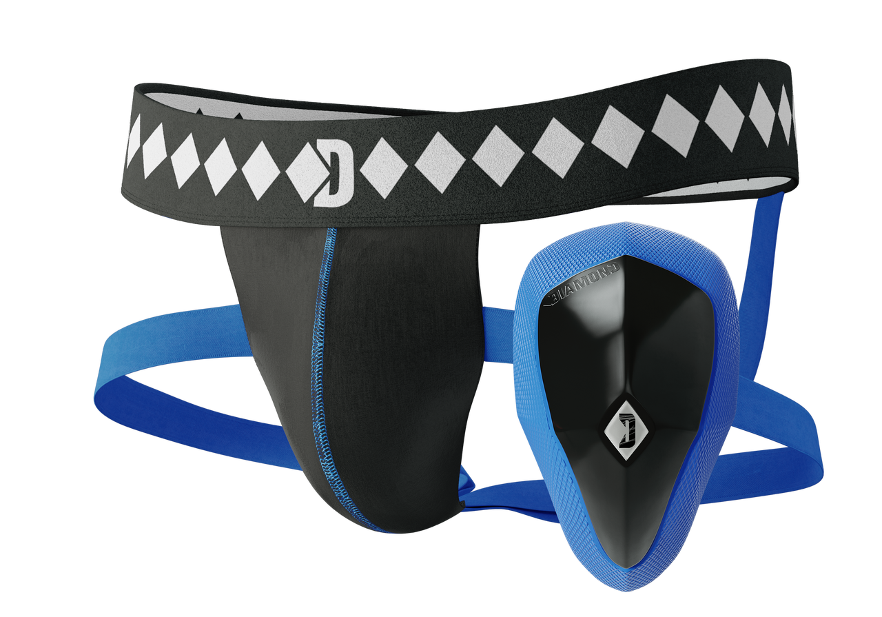 Diamond MMA Quad Strap Jockstrap and athletic cup system available at www.thejiujitsushop.com  Enjoy Free Shipping from The Jiu Jitsu Shop