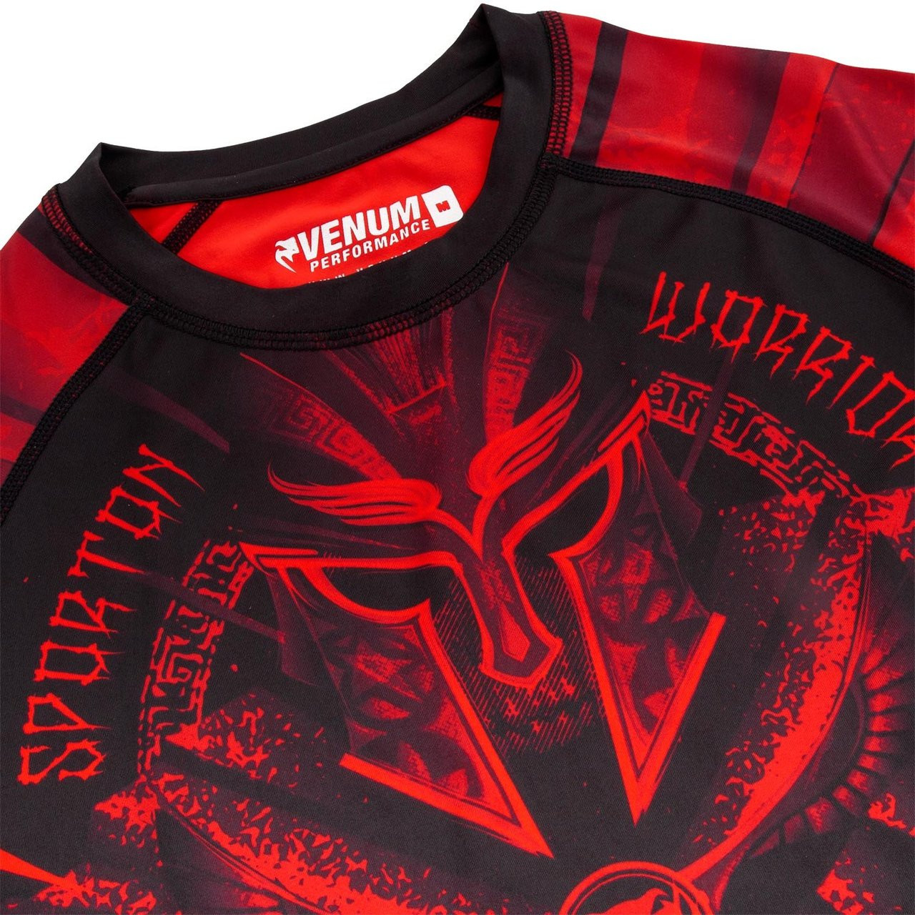 Venum Gladiator 3.0 Longsleeve Rashguard (Black/Red)  Available at www.thejiujitsushop.com  Enjoy Free Shipping from The Jiu Jitsu Shop.