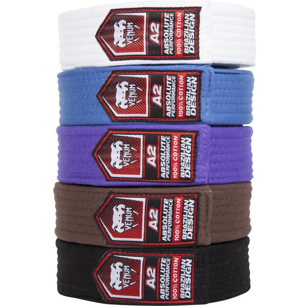 Venum Brazilian Jiu Jitsu Belts, All Belt colors at www.thejiujitsushop.com   Enjoy Free shipping on Venum BJJ Belts today from The Jiu Jitsu Shop