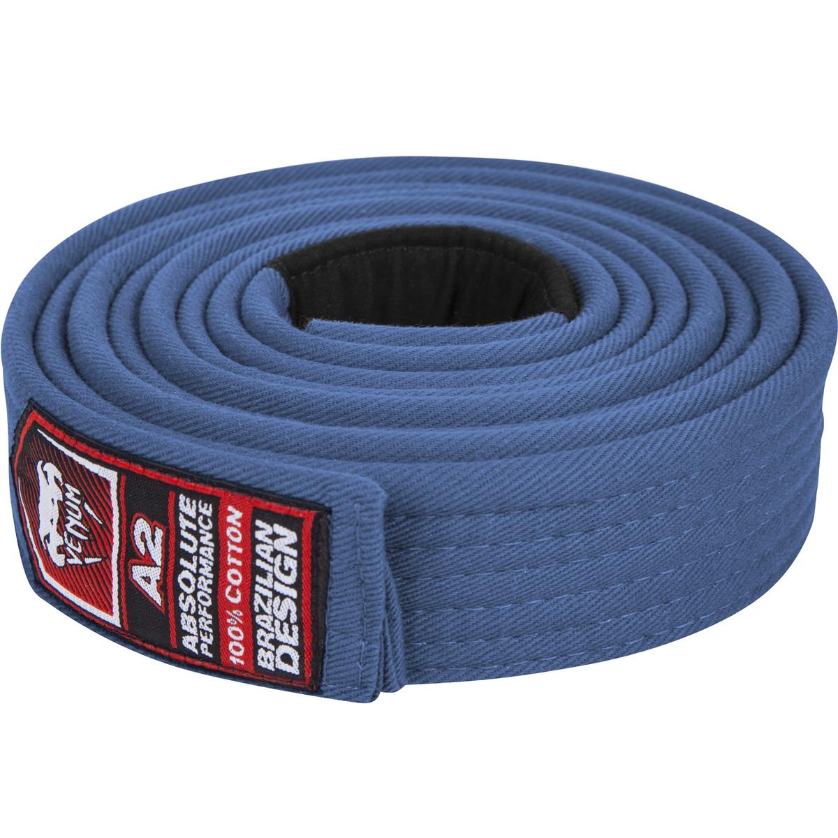 Venum Brazilian Jiu Jitsu Blue belt , All Belt colors at www.thejiujitsushop.com   Enjoy Free shipping on Venum BJJ Belts today from The Jiu Jitsu Shop