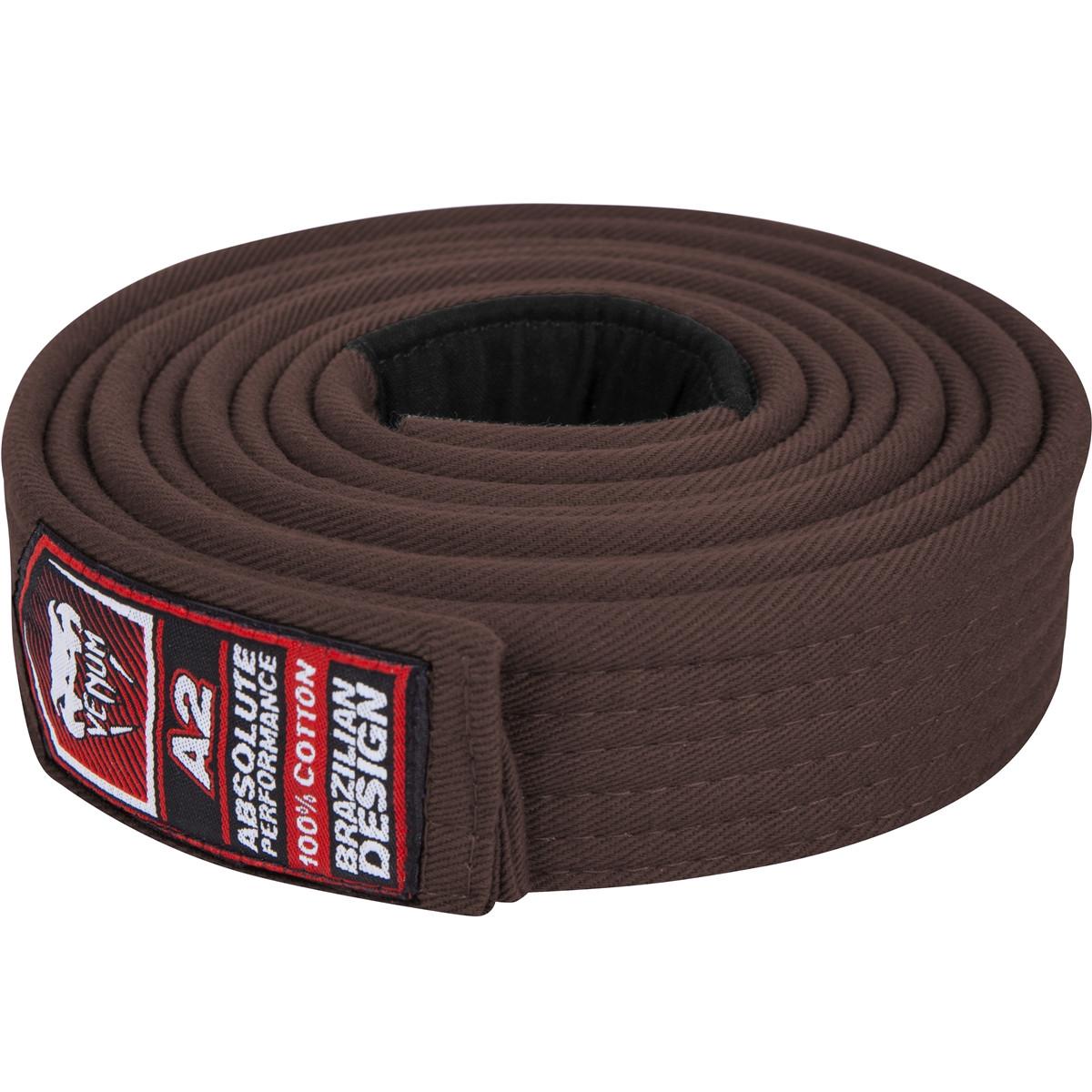 Venum Brazilian Jiu Jitsu Brown belt , All Belt colors at www.thejiujitsushop.com   Enjoy Free shipping on Venum BJJ Belts today from The Jiu Jitsu Shop