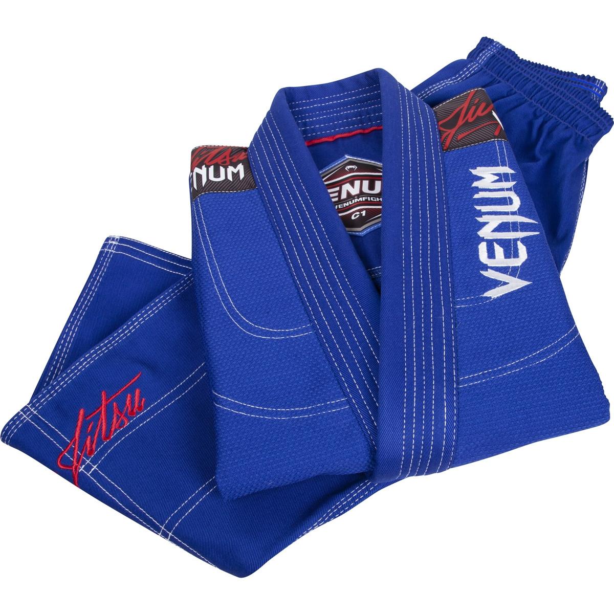 Venum challenger 2.0 kids blue jiu jitsu gi @ www.thejiujitsushop.com