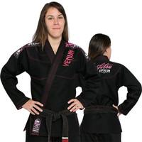 Venum Challenger 2.0 Women's Black and Pink Jiu Jitsu Gi @ www.thejiujitsushop.com