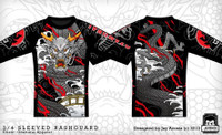 Kozamurai Dragon Rashguard @ The Jiu Jitsu Shop