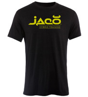Jaco Athletics HT Crew Black/Suga Tshirt now available at www.thejiujitsushop.com  Enjoy Free Shipping from The Jiu Jitsu Shop Today!