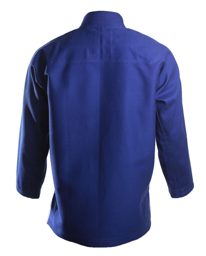 Inverted Gear Blue Panda 2.0 Back View of the Gi @ www.thejiujitsushop.com