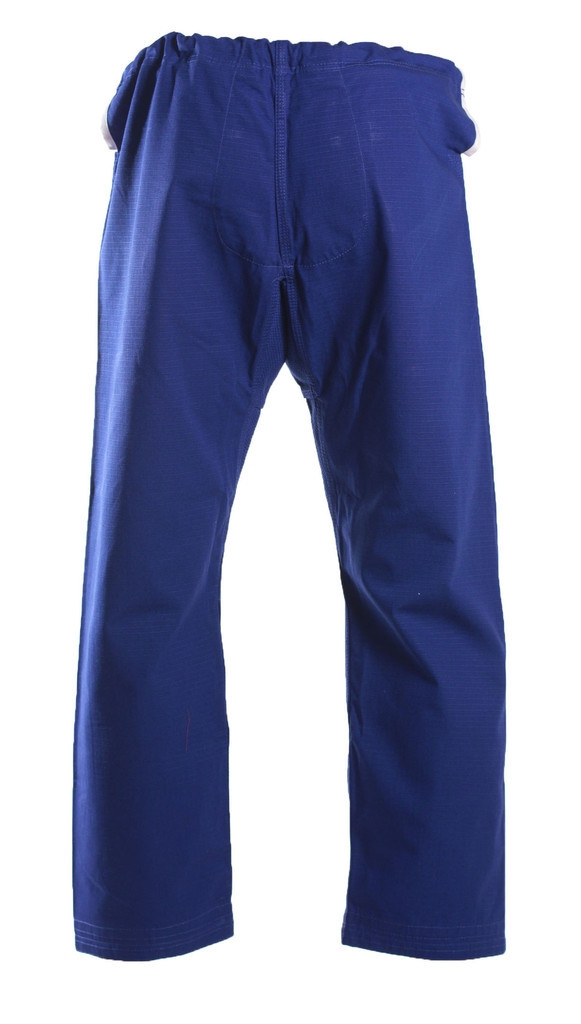 Inverted Gear Blue Panda 2.0 Back View of the Gi Pants  @ www.thejiujitsushop.com