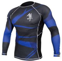 Hayabusa Metaru 47 Silver Rashguard Longsleeve - All colors