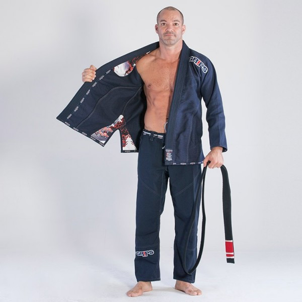 Grips Athletics Navy Secret Weapon 2.0 @ www.thejiujitsushop.com