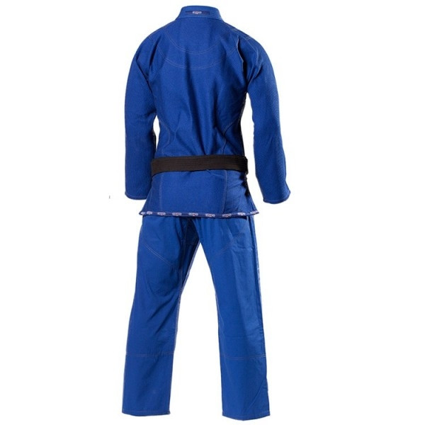 Grips Athletics Royal Blue Secret Weapon 2.0 back view @ www.thejiujitsushop.com