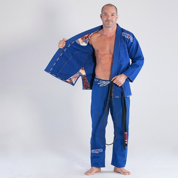Grips Athletics Royal Blue Secret Weapon 2.0 @ www.thejiujitsushop.com  Top customer Service and Free Shipping Storewide