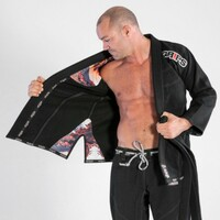 Grips Athletics Black Secret Weapon 2.0 Black Jiu Jitsu Gi @ www.thejiujitsushop.com   Top Customer service.  Free Shipping storewide