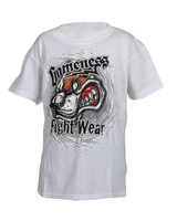 gameness growl dog tshirt in white available at www.thejiujitsushop.com   Enjoy free shipping from The Jiu Jitsu Shop today!