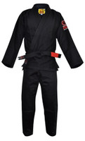 Fuji All Around BJJ Gi (Single Weave) Black