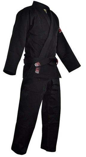 1e9a4294d255 Fuji All Around BJJ Gi Black - The Jiu Jitsu Shop