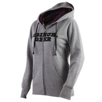 Clinch Gear Womens My Type Zip Hoody- Heather