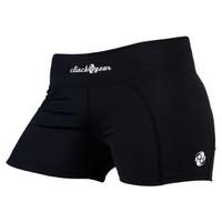 Clinch Gear Women's Compression Shorts in Black Available at The Jiu Jitsu Shop.    Enjoy Free Shipping from The Jiu Jitsu Shop today!