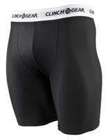 Clinch Gear Compression Brief Shorts in Black available at www.thejiujitsushop.com  Enjoy Free Shipping from The Jiu Jitsu Shop