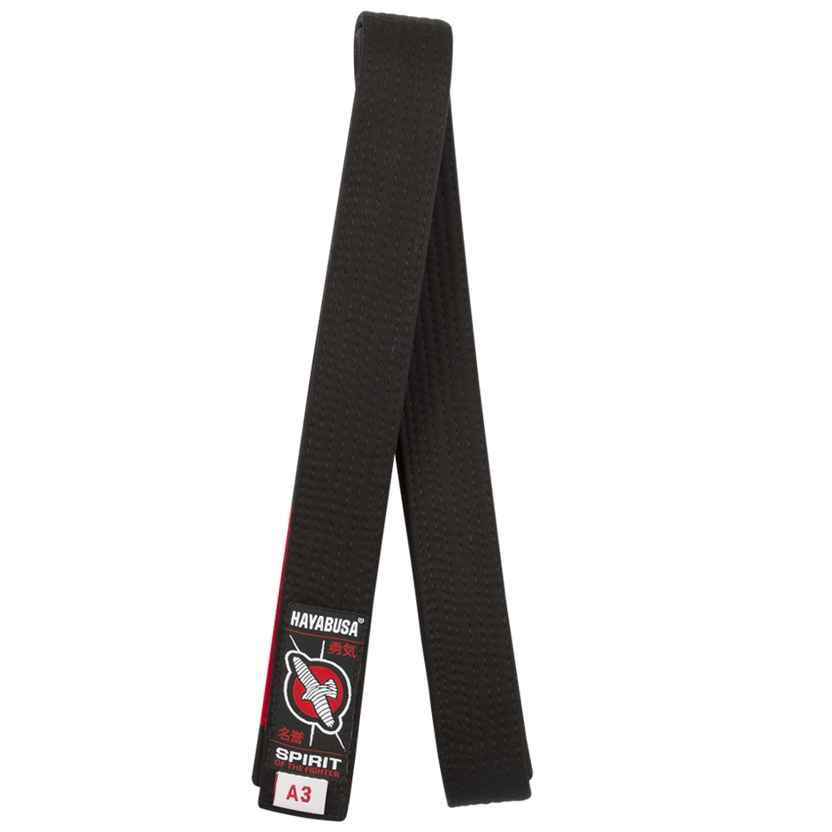 Hayabusa Black Jiu Jitsu Belt @ The Jiu Jitsu Shop