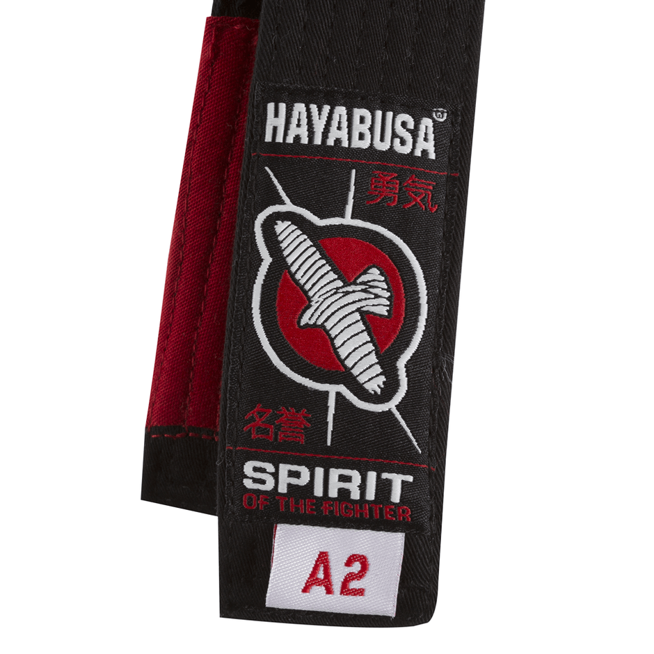 Close up of Hayabusa Jiu Jitsu Belts @ The Jiu Jitsu Shop