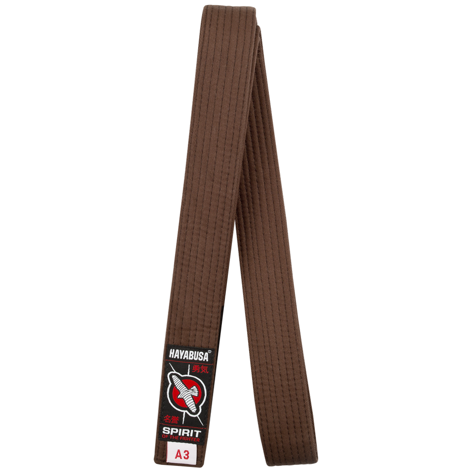 Hayabusa Brown Jiu Jitsu Belt @ The Jiu Jitsu Shop