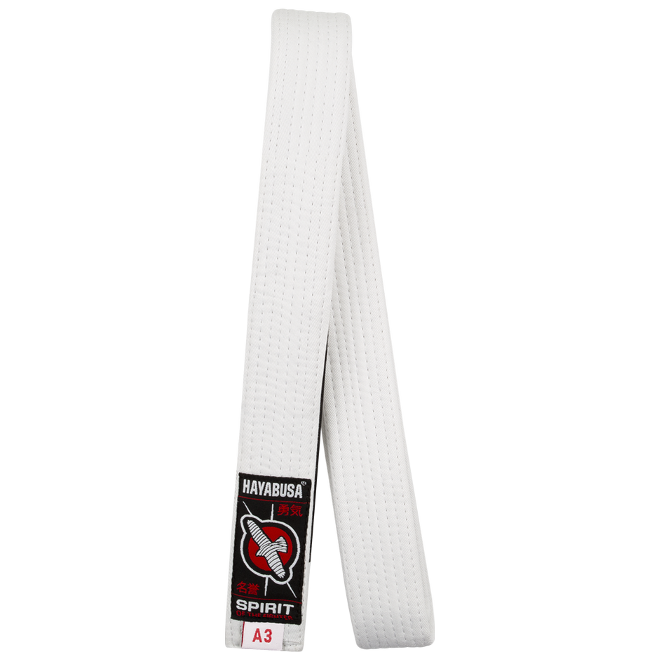 Hayabusa White Jiu Jitsu Belt @ The Jiu Jitsu Shop