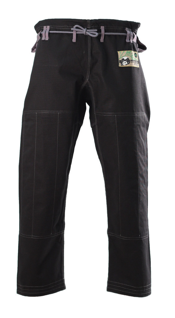 Inverted Gear Black Panda 2.0 Jiu Jitsu Gi Pants@ www.thejiujitsushop.com Light comforable durable BJJ Kimono