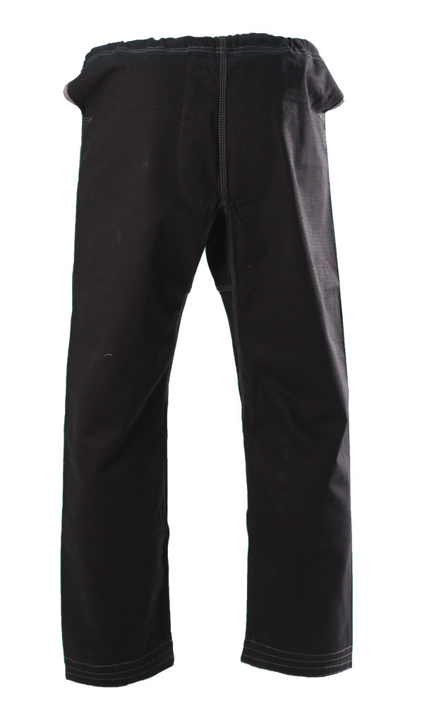 Inverted Gear Black Panda 2.0 Jiu Jitsu back of Gi Pants@ www.thejiujitsushop.com