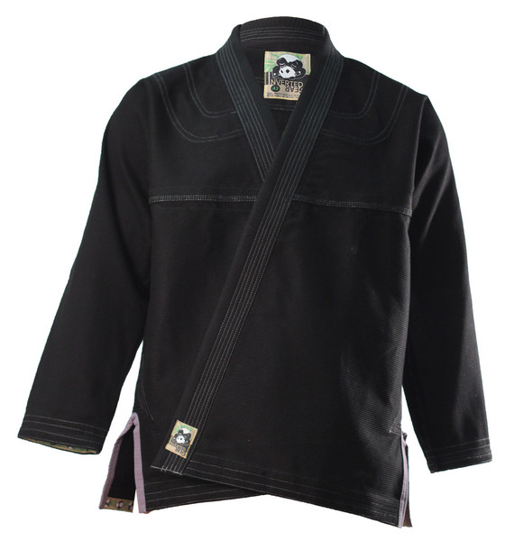 Inverted Gear Black Panda 2.0 Jiu Jitsu Gi @ www.thejiujitsushop.com Light comforable durable BJJ Kimono