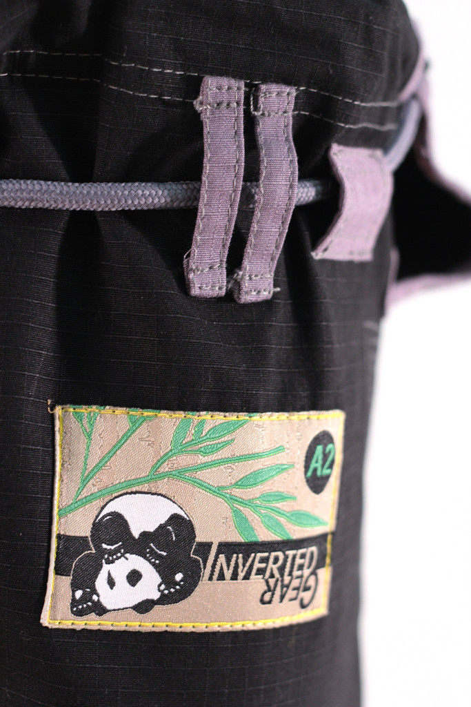 Inverted Gear Black Panda 2.0 Jiu Jitsu Gi pant zoom @ www.thejiujitsushop.com