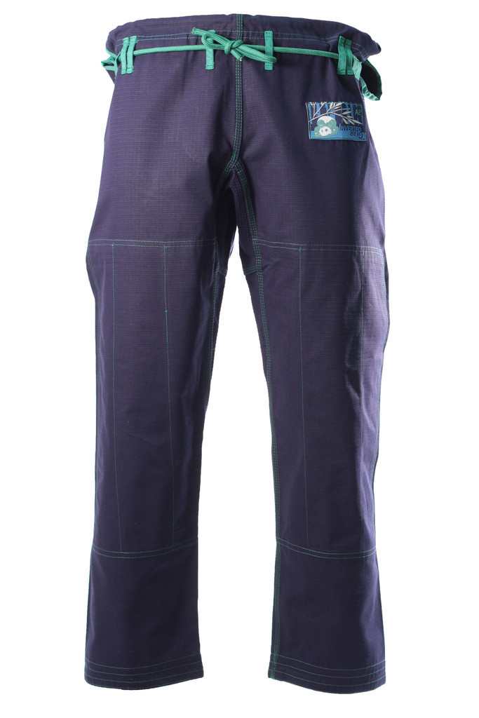 Inverted Gear Navy Blue Bamboo Jiu Jitsu Gi Pants  @ www.thejiujitsushop.com