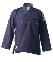 Inverted Gear Navy Blue Bamboo Jiu Jitsu Gi @ www.thejiujitsushop.com