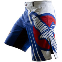 Hayabusa Chikara Recast Performance Shorts Blue @ www.thejiujitsushop.com