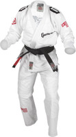 2015 Gameness Elite BJJ White Gi @ www.thejiujitsushop.com  Enjoy Free Shipping on the White Elite Gi 2015 edition from Gameness.