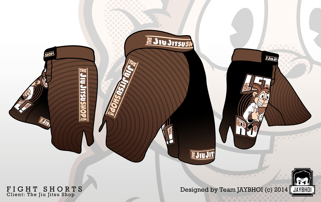 The Jiu Jitsu Shop Let's Roll MMA Fight Shorts @ The Jiu Jitsu Shop http://www.thejiujitsushop.com
