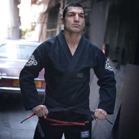 Grips Athletics Limited Edition Cyborg Gi Completely closed Gi- Black @ The Jiu Jitsu Shop www.thejiujitsushop.com For all your Jiu Jitsu Needs.  Limited Time only!