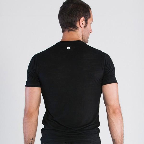 Grips Athletics Men's Get Up T-Shirt Black Back @ The Jiu Jitsu Shop.  www.thejiujitsushop.com