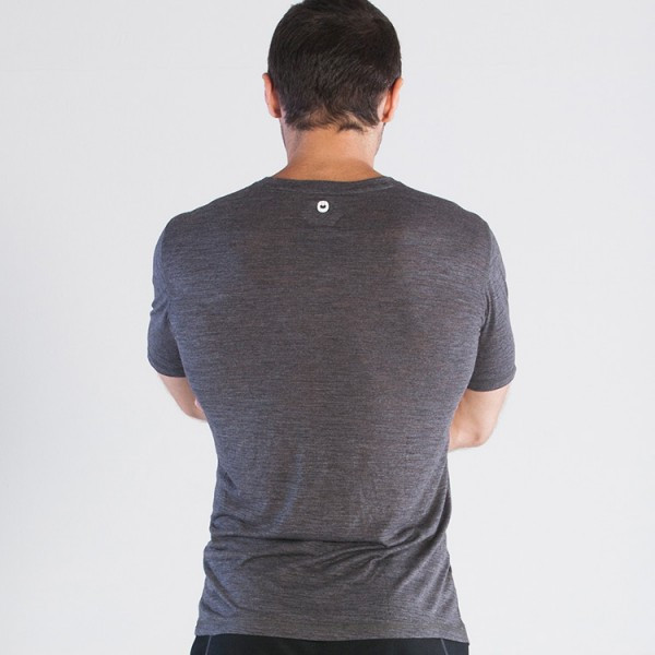 Grips Athletics Baseline Tshirt grey  @ www.thejiujitsushop.com.  Light tshirts with quick dry technology from our friends at Grips Athletics