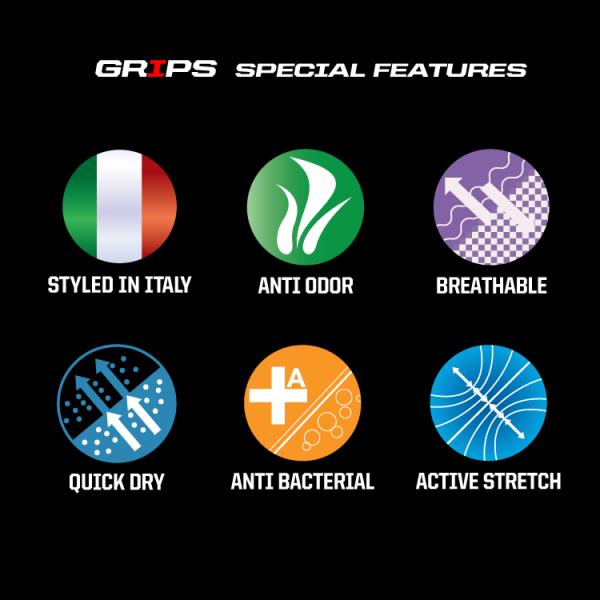 Grips Athletics Armadura Longsleeve Rashguard Black @ www.thejiujitsushop.com