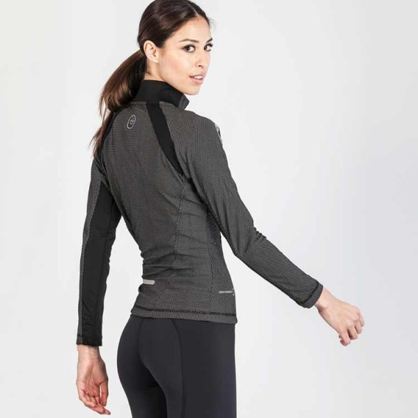 Grips Athletics Women's Chill Out Tracktop back view.  Comfortable Women's tracktop jackets.  www.thejiujitsushop.com